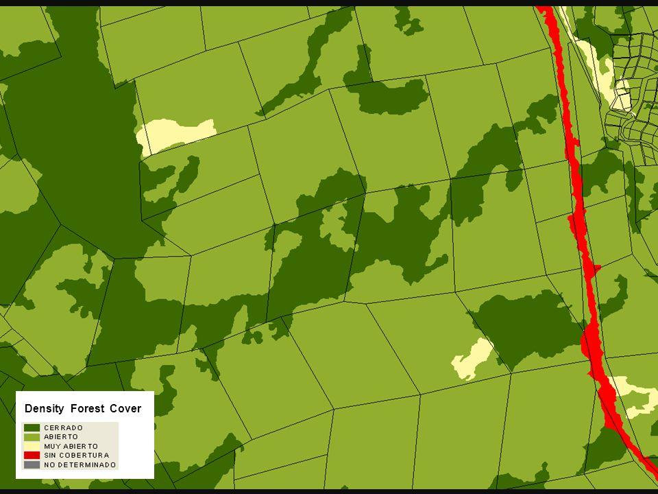 Densidad de Cobertura Density Forest Cover