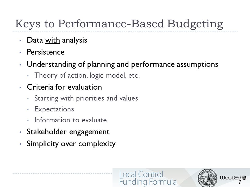Local Control and Accountability Plan Encourages telling a story of support, impact, and improvement Emphasis on good planning, communication, and engagement Organization: Stakeholder Engagement Goals and Progress Indicators Actions, Services, and Expenditures 8