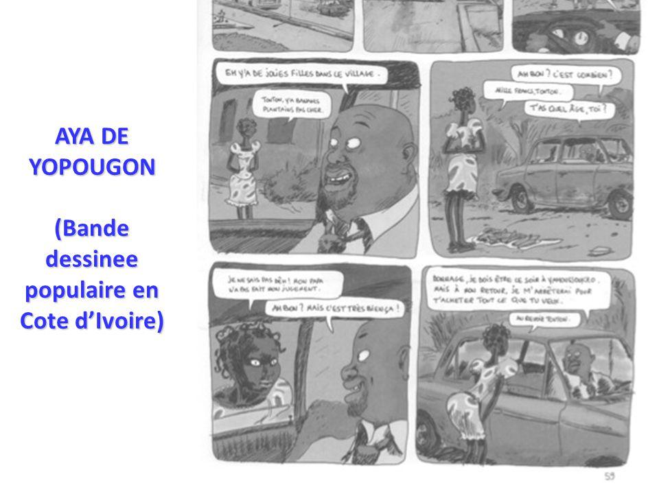 AYA DE YOPOUGON (Bande dessinee populaire en Cote d'Ivoire)