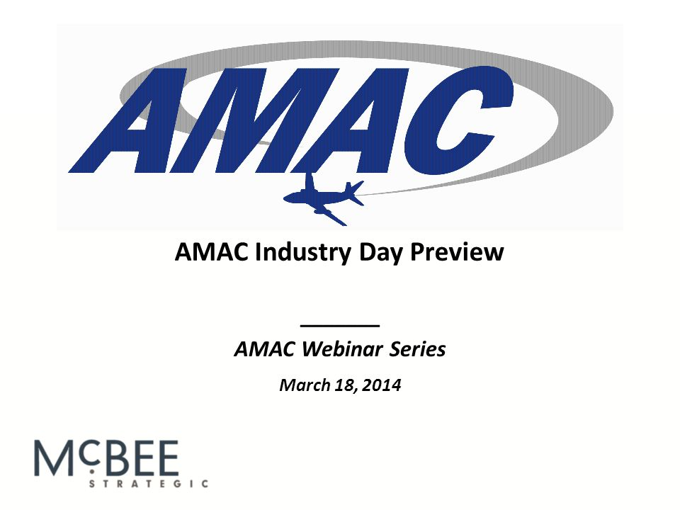 Lobbying 101 12 Introductions : The Team Leader should begin by introducing him or herself and AMAC as an organization.