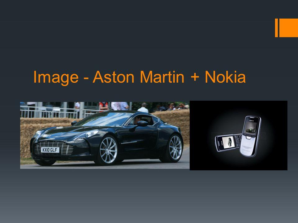 Image - Aston Martin + Nokia
