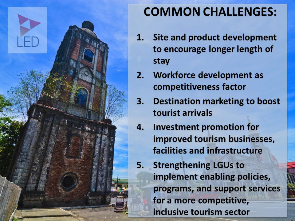 Busuanga Coron Source: Provincial Tourism Office Culion Linapacan *Linapacan is not identified *El Nido is part of the circuit Source: 2 nd Palawan Tourism Conference Sustainable aqua-based tourism development for inclusive growth and employment in NORTHERN PALAWAN
