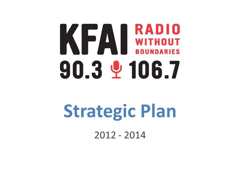 Strategic Plan 2012 - 2014