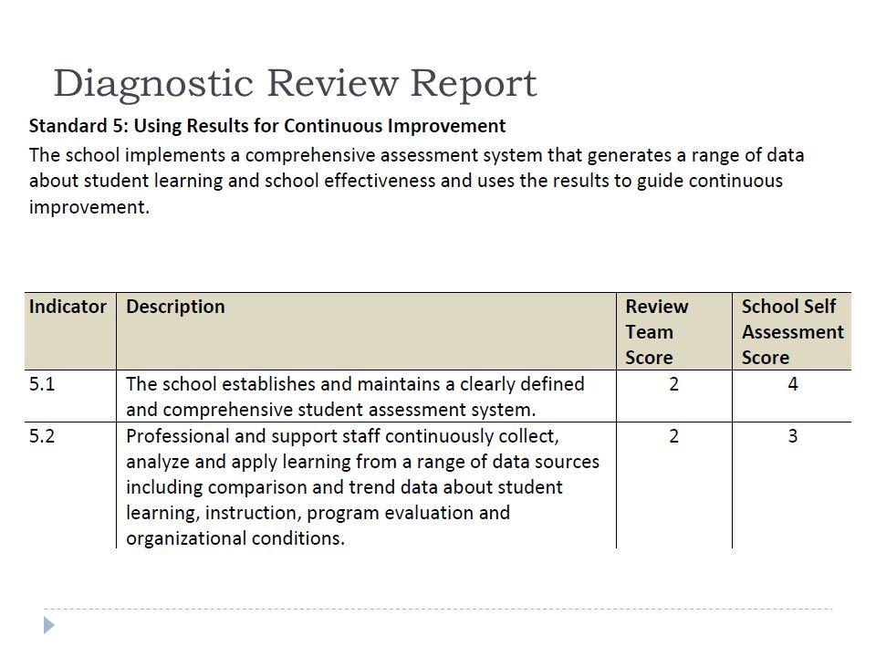 Diagnostic Review Report