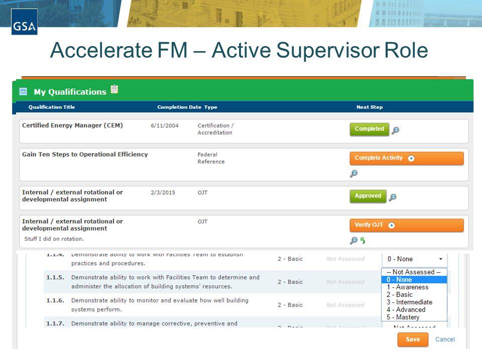 17 Accelerate FM – Active Supervisor Role