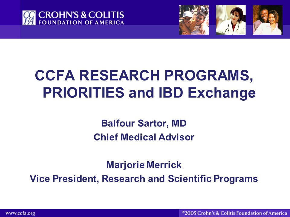 IBD Exchange Strategies 1.Collect detailed clinical information on patients with IBD including treatment, exposures, complications, outcomes from prospectively followed cohorts of adults and children with IBD, 2.Collect patient reported outcomes from prospectively followed cohorts of patients with IBD 3.Create a biosample repository containing blood, feces, urine, and tissue samples, 4.Create a knowledge environment to include a data warehouse, specialty research cores, analytic tools, educational tools for scientists, and educational tools for patients 5.Promote novel research through a peer reviewed research grants program.