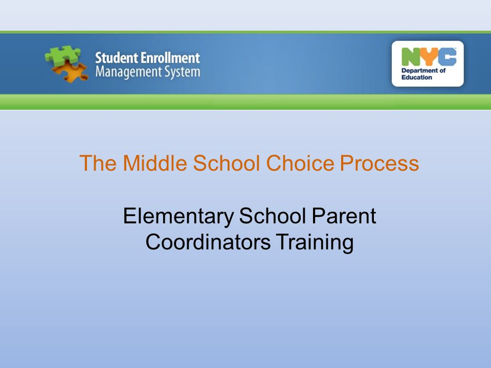 SEMS Student Enrollment Management System (SEMS) is a web- based tool that is designed to support school staff and administration as they manage enrollment processes including the Middle School Choice Process.