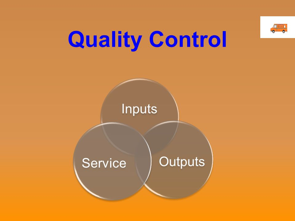 Quality Control Inputs OutputsService