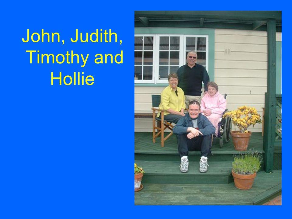 John, Judith, Timothy and Hollie