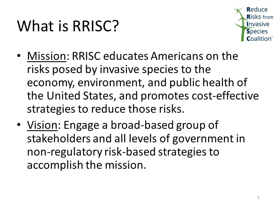 What is RRISC.