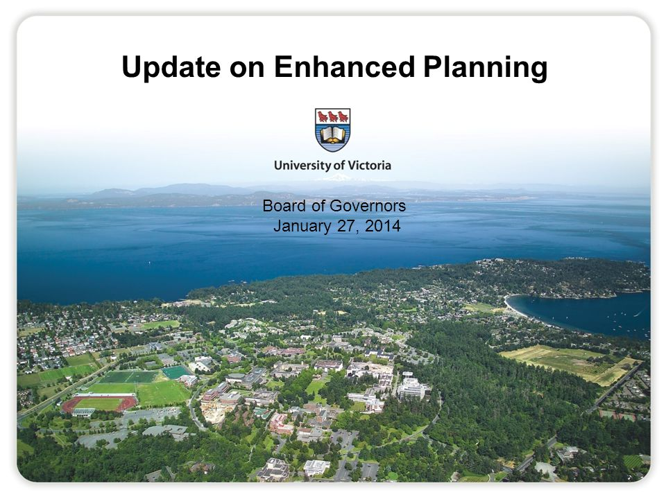 Planning Timelines - Preliminary Initiate process: December 2013 Development of criteria: Fall 2014 Gathering of data: Spring to Fall 2014 Use of data for planning: Commencing with planning process for 2015/16 12