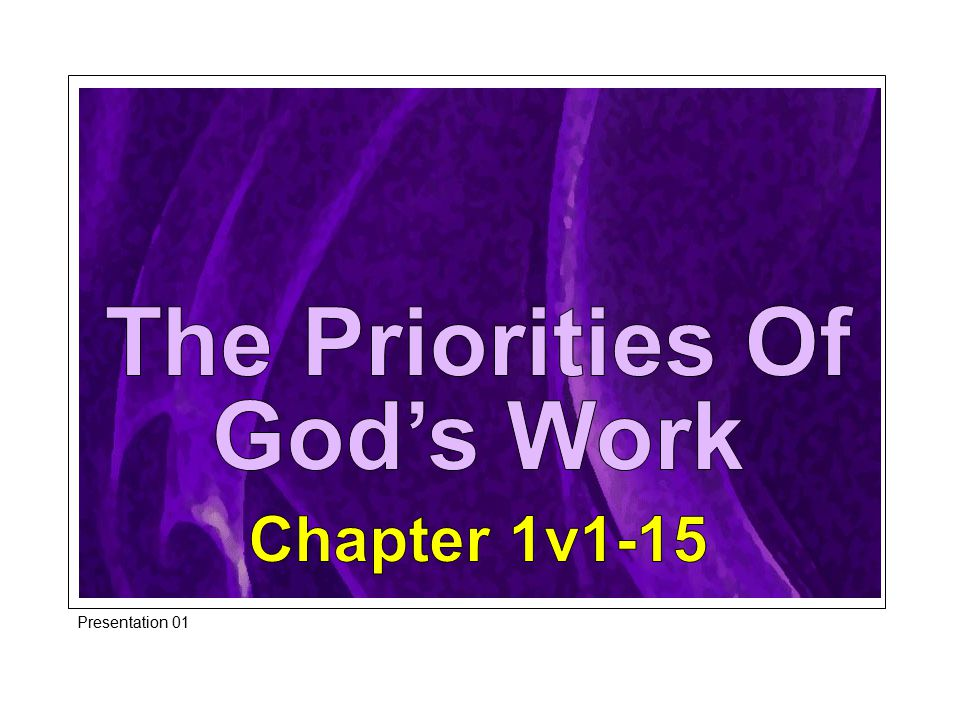 The Eloquent Providence Of God God ensured that their hoped for prosperity was blighted.