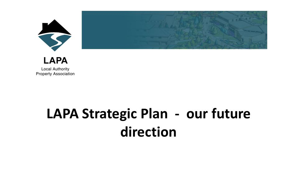 LAPA Strategic Plan - our future direction