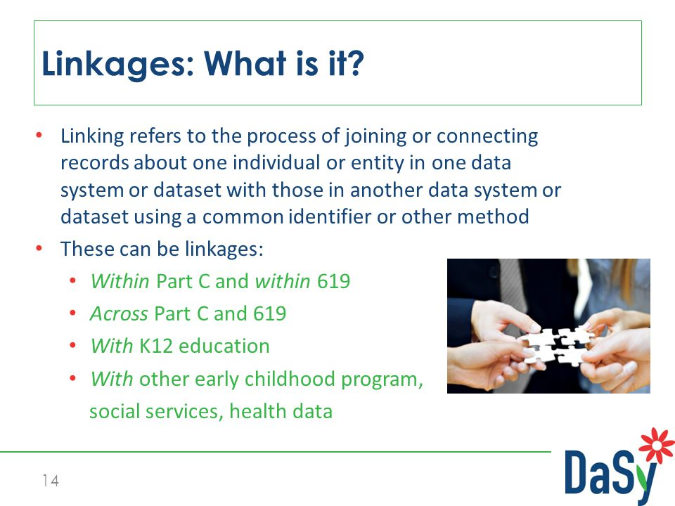 14 Linkages: What is it.