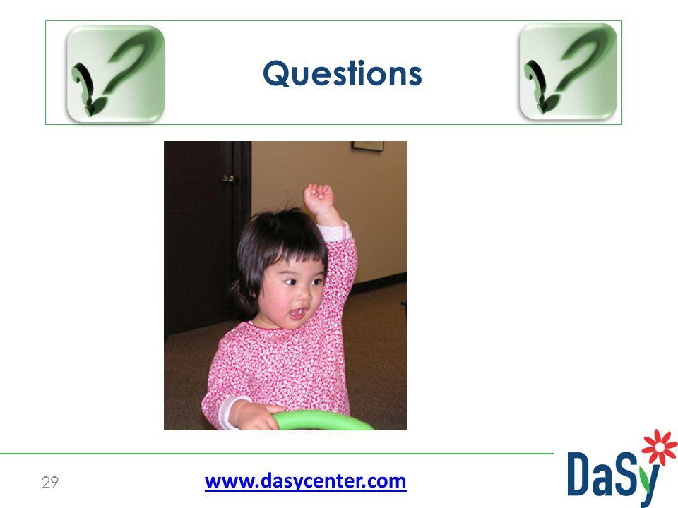 29 Questions www.dasycenter.com