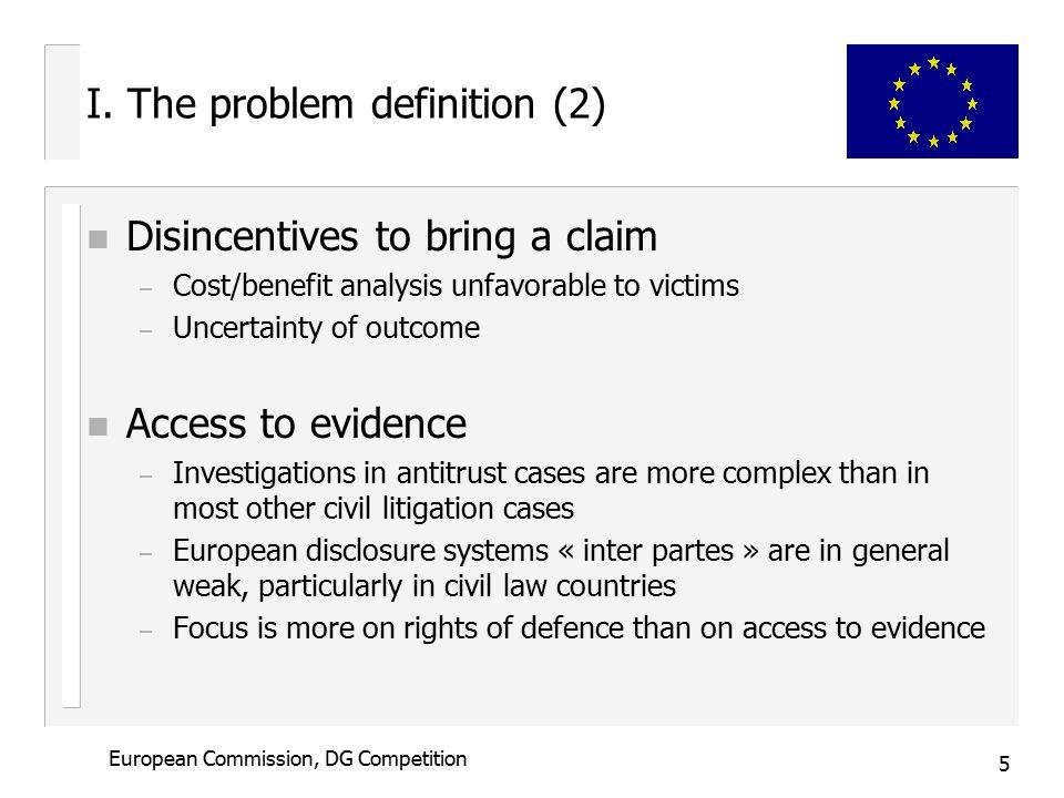 5 European Commission, DG Competition I.