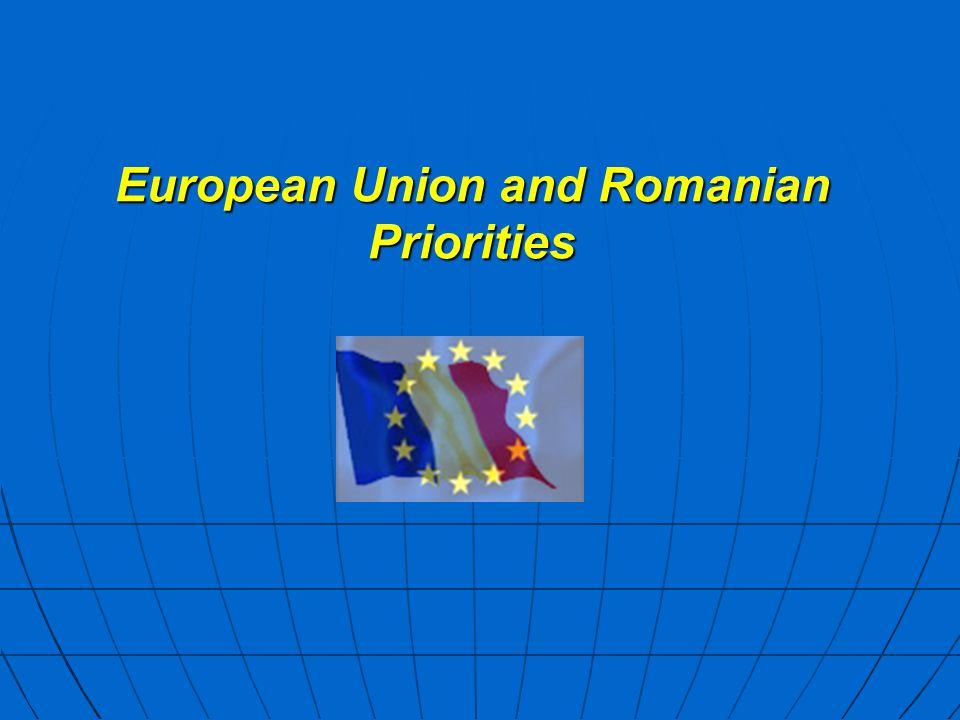 European Union and Romanian Priorities