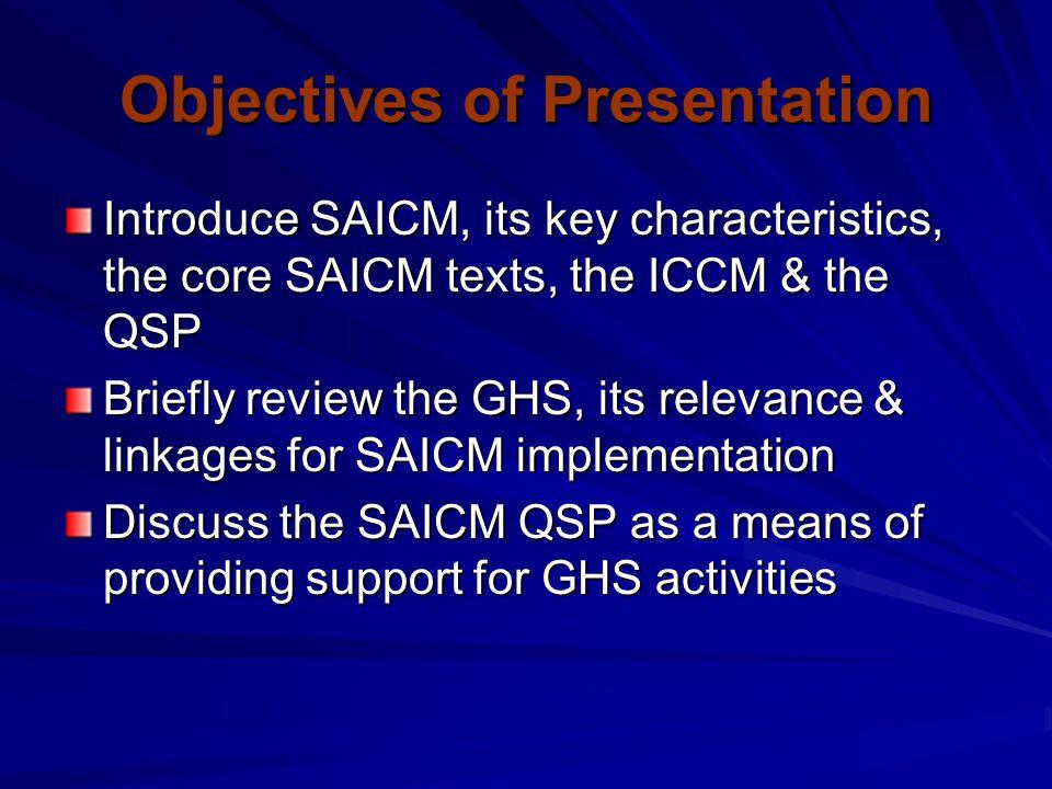 What is SAICM .