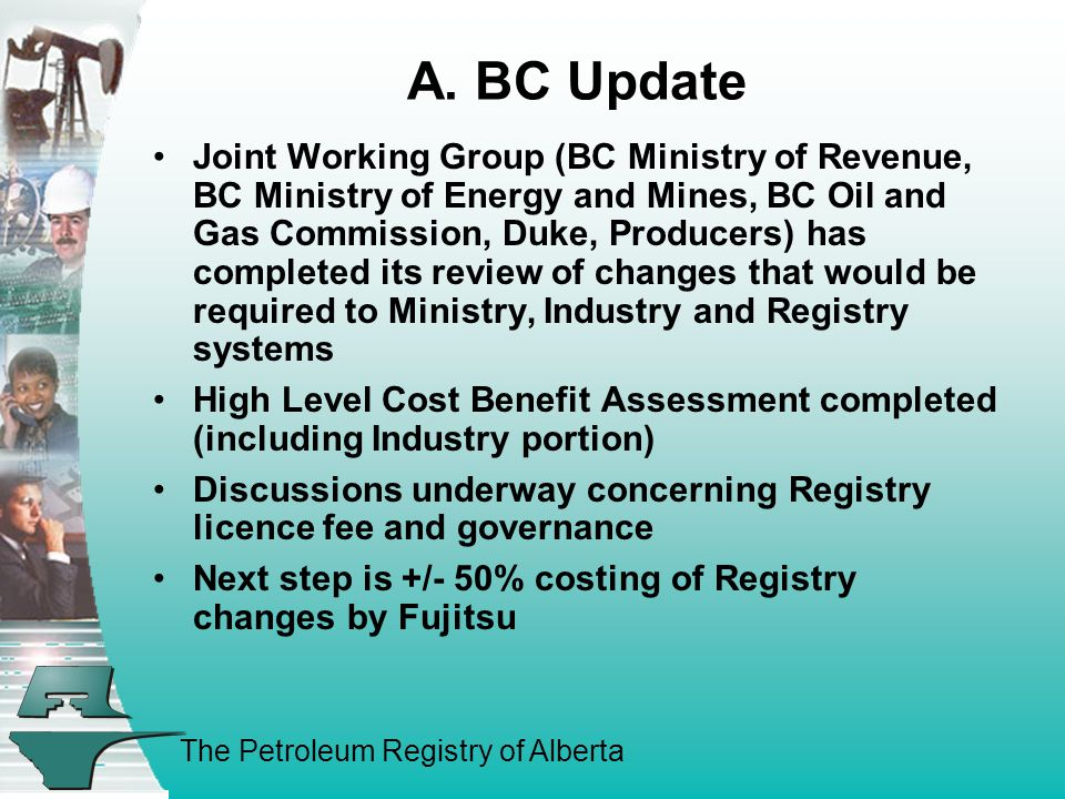 The Petroleum Registry of Alberta A.