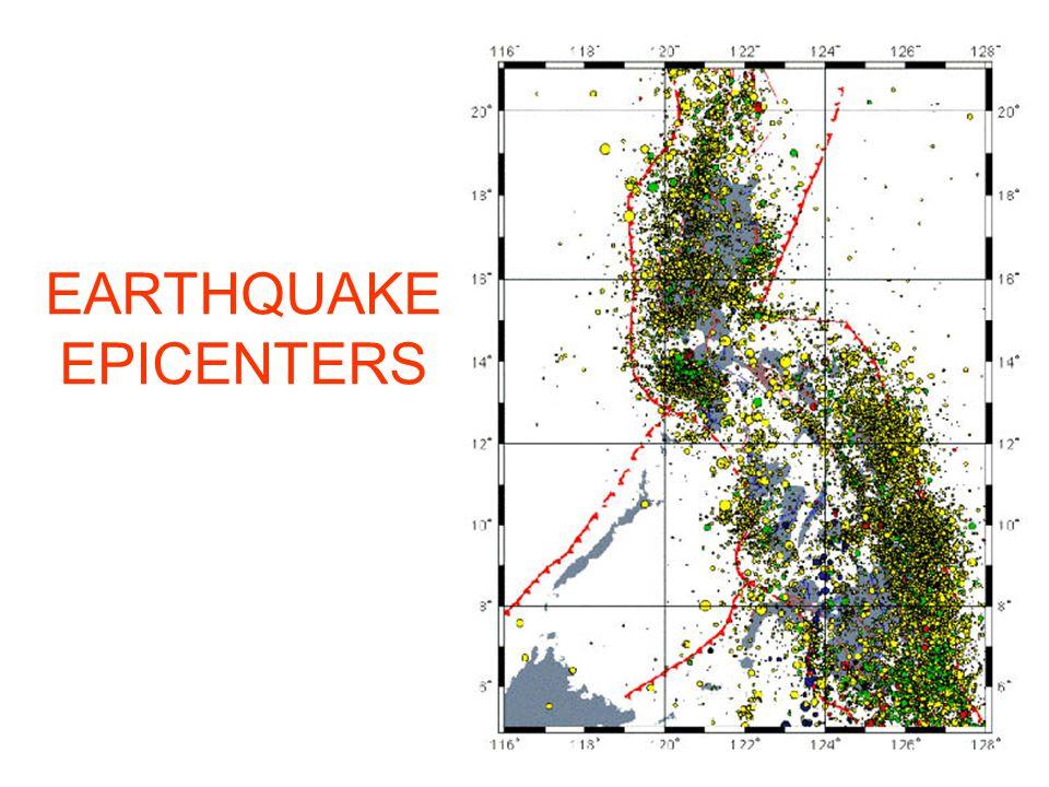 HAZARD EARTHQUAKE National Geographic Data Center 0.25º x 0.25º grids (1963-2001)
