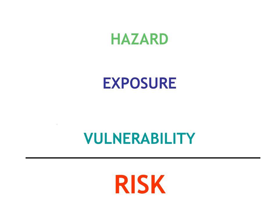 Risk = H x E x V
