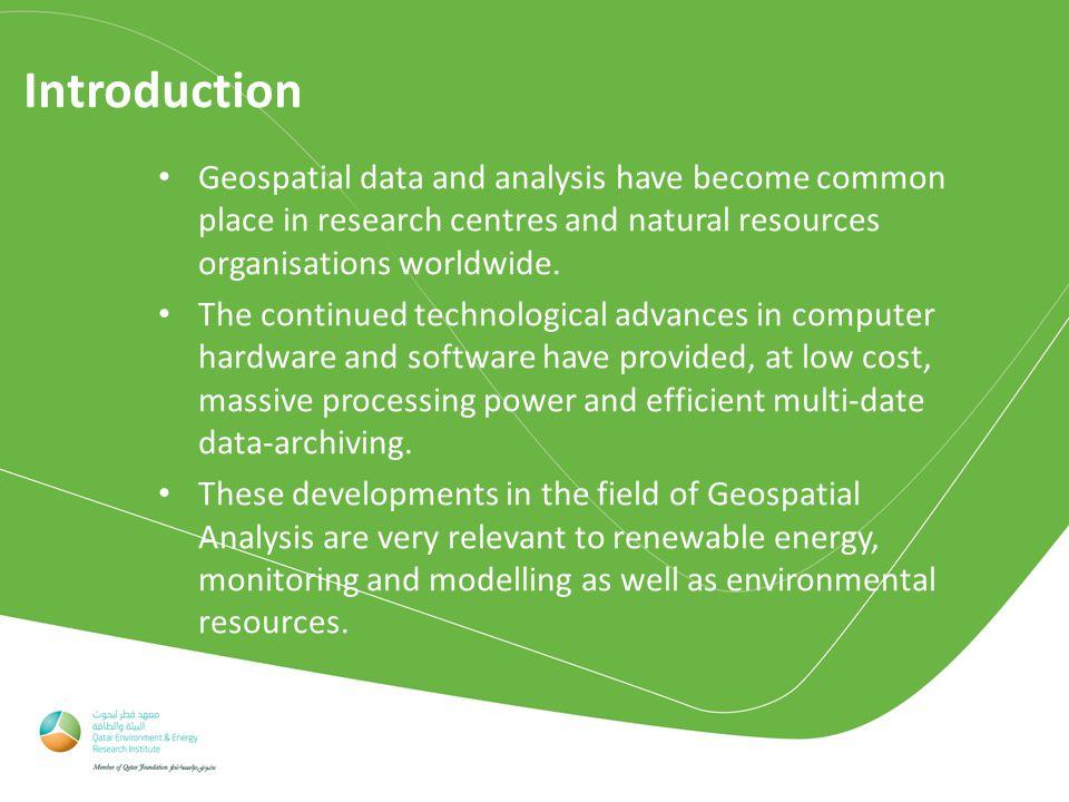 6) Soil Quality PI: Dr.Shomar - Investigate the geochemistry of the topsoil in Qatar.