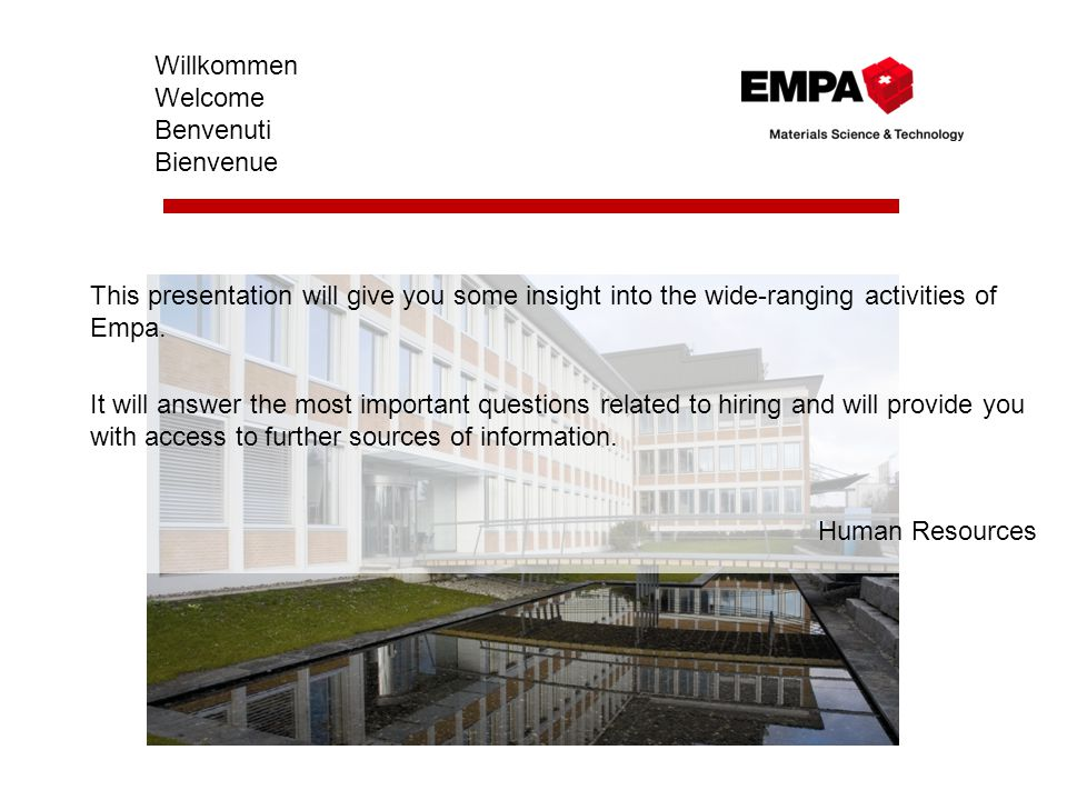 Welcome to Empa Prof.Dr.