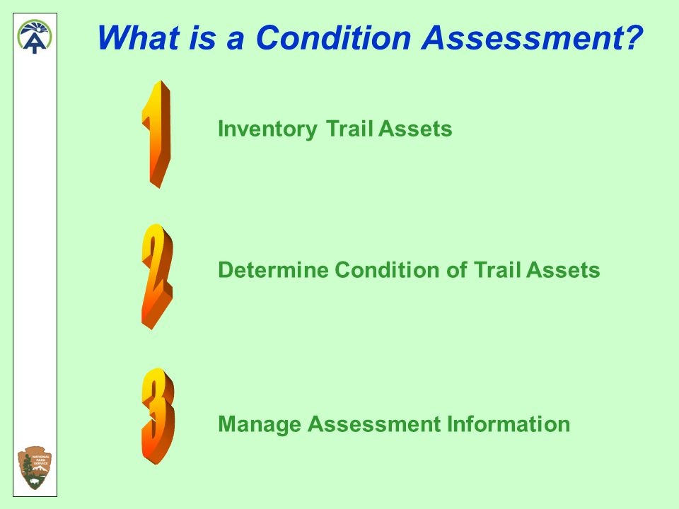 What is a Condition Assessment.
