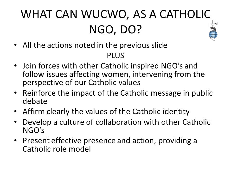 WHAT DID POPE JOHN PAUL II SAY ABOUT NGO'S.