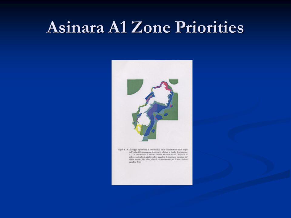 Asinara A1 Zone Priorities