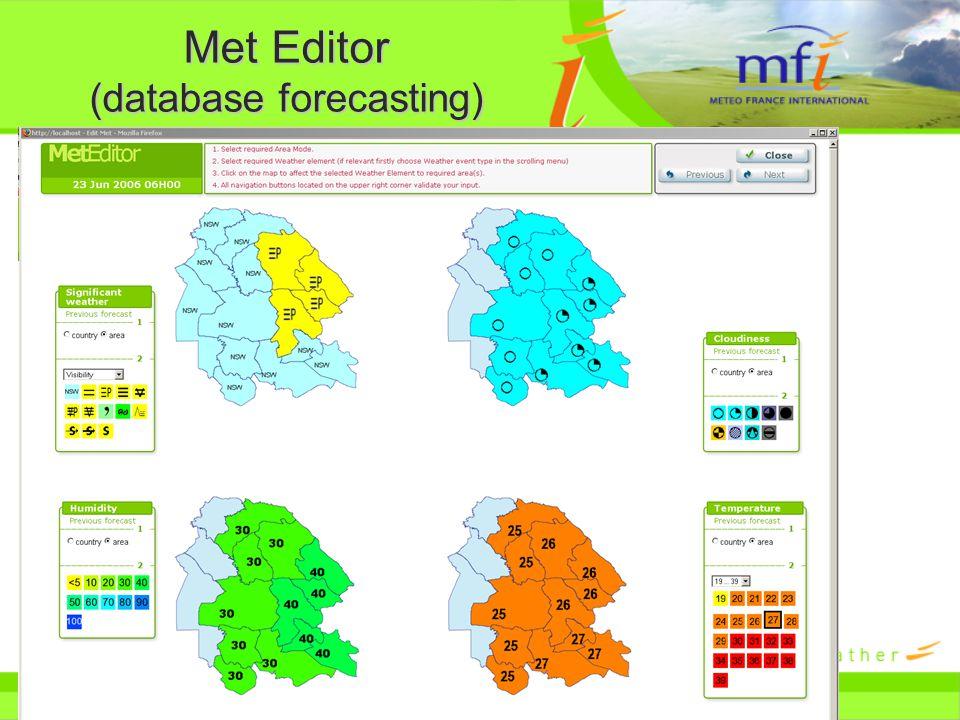 Met Editor (database forecasting)