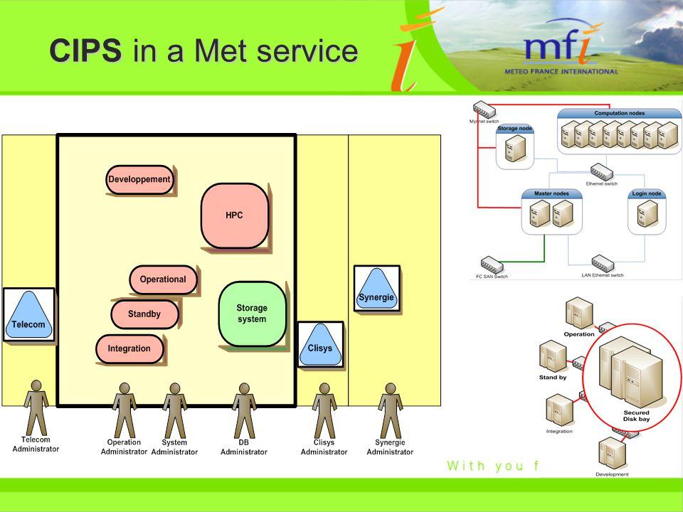 CIPS in a Met service