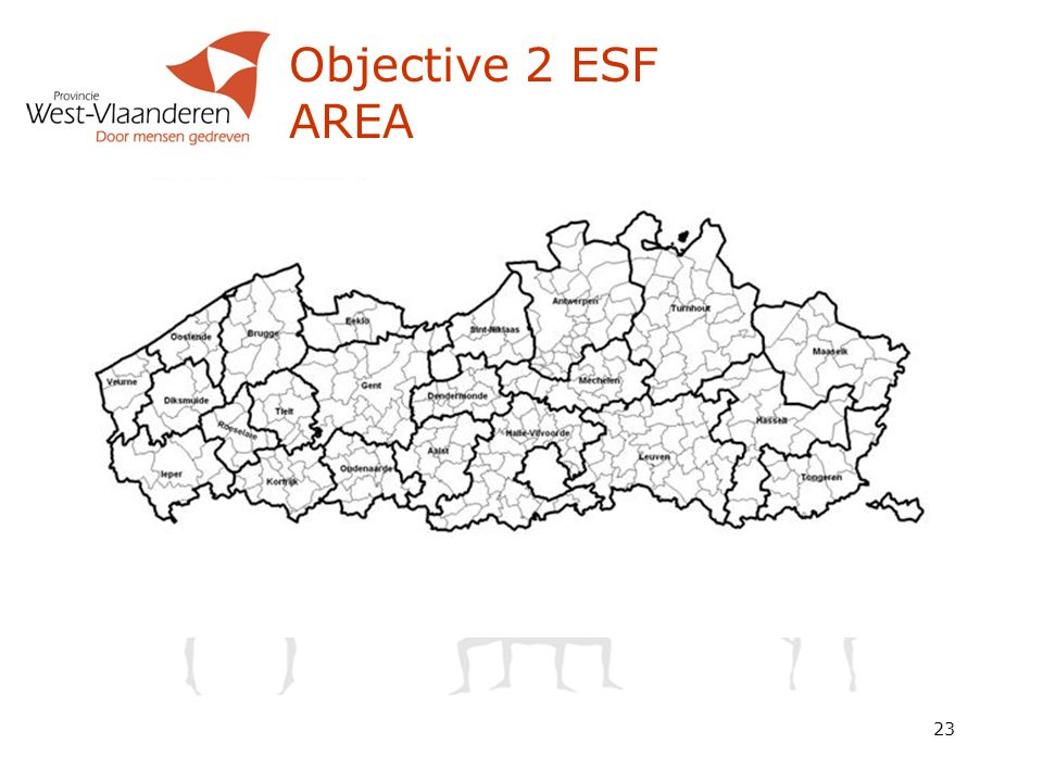 23 Objective 2 ESF AREA