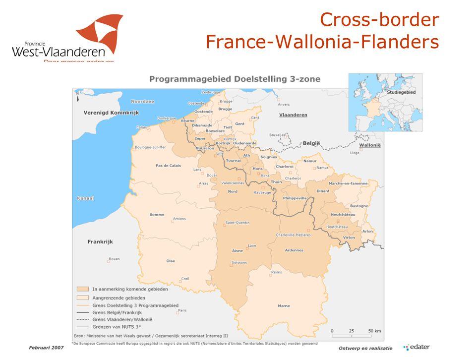28 Cross-border France-Wallonia-Flanders  Gebiedsomschrijving