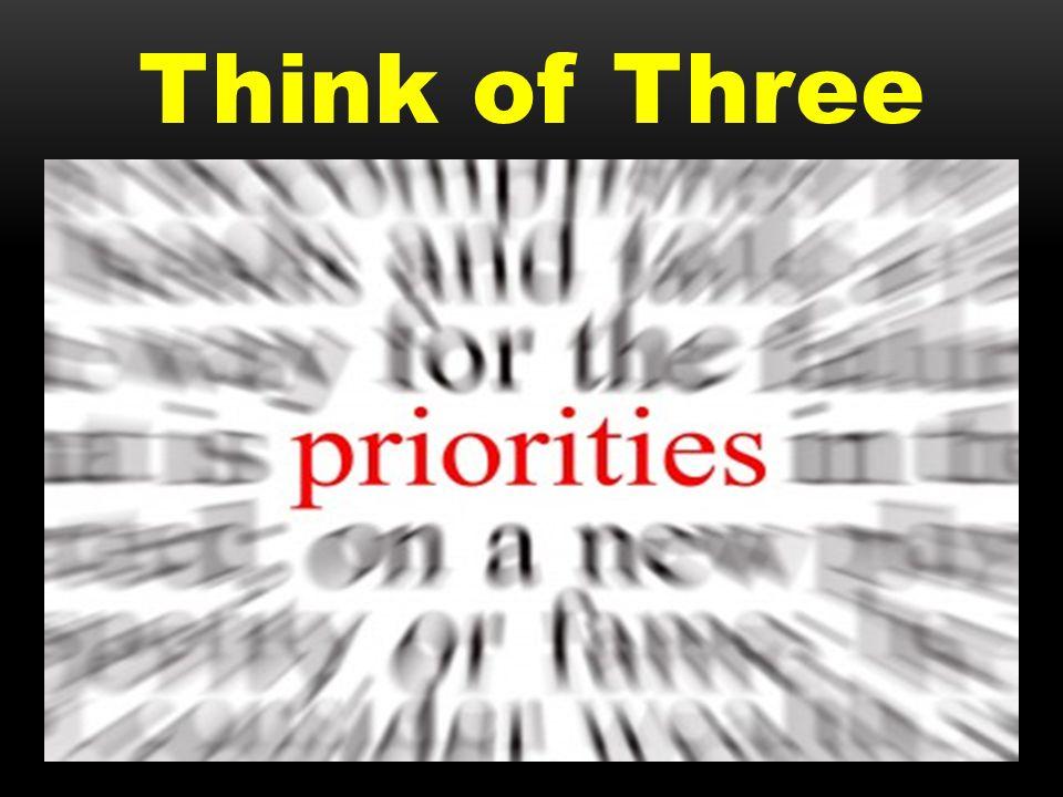 Think of Three