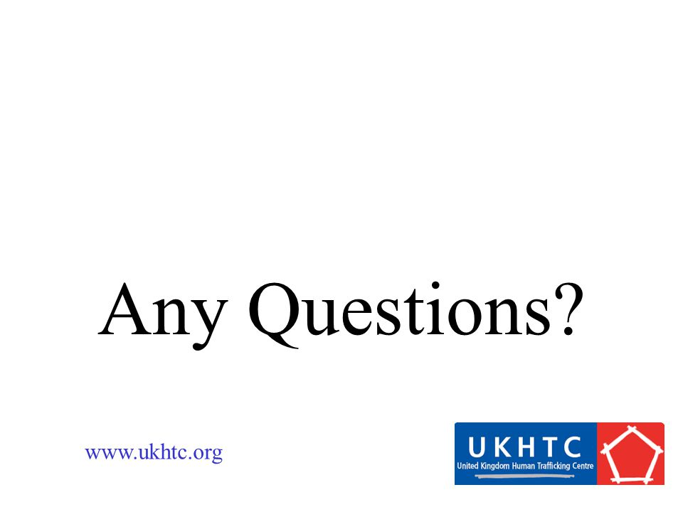 Any Questions www.ukhtc.org