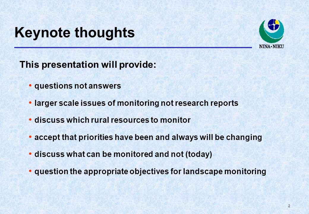 1 Monitoring challenges Til bruker: Skriv inn teksten du vil ha på ditt første lysbilde.