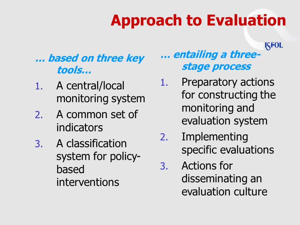 … based on three key tools… 1. A central/local monitoring system 2.