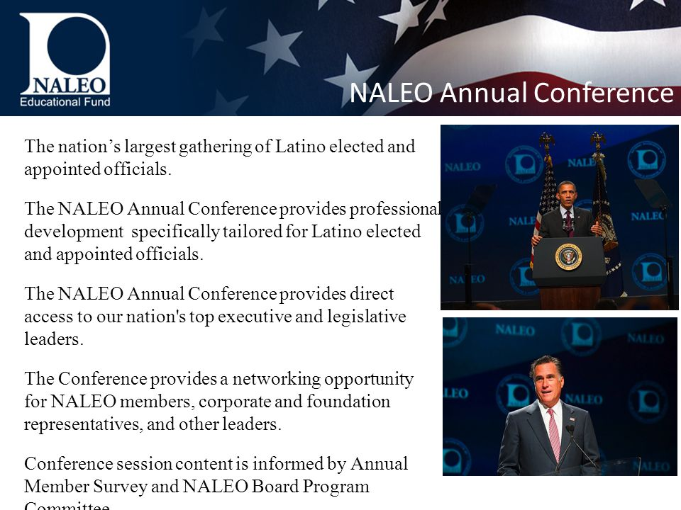 The nation's largest gathering of Latino elected and appointed officials.