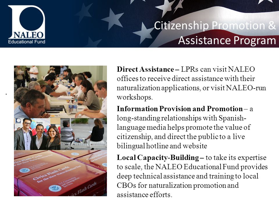 Citizenship Promotion & Assistance Program.