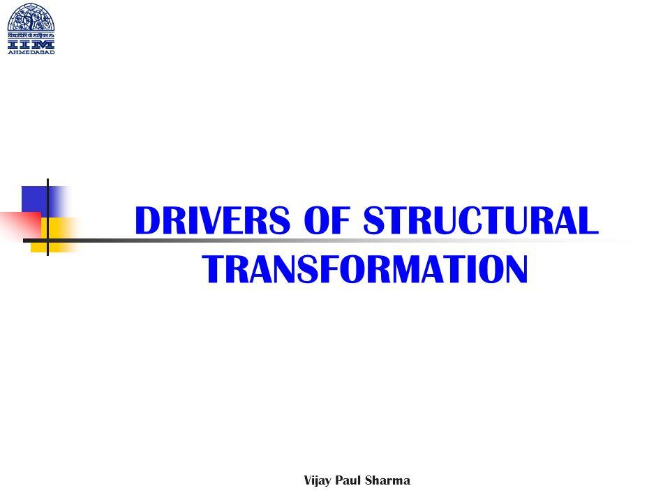 DRIVERS OF STRUCTURAL TRANSFORMATION Vijay Paul Sharma