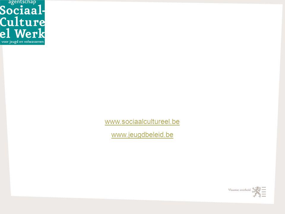 draft-version jv 02062009 4/22/2015 12 www.sociaalcultureel.be www.jeugdbeleid.be