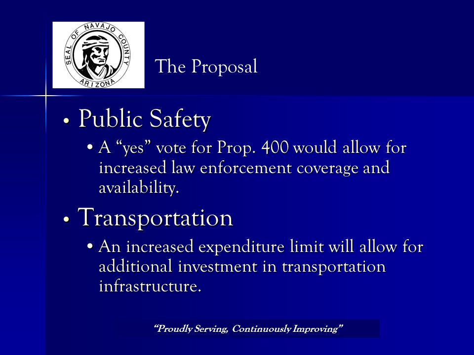 Public Safety Public Safety A yes vote for Prop.