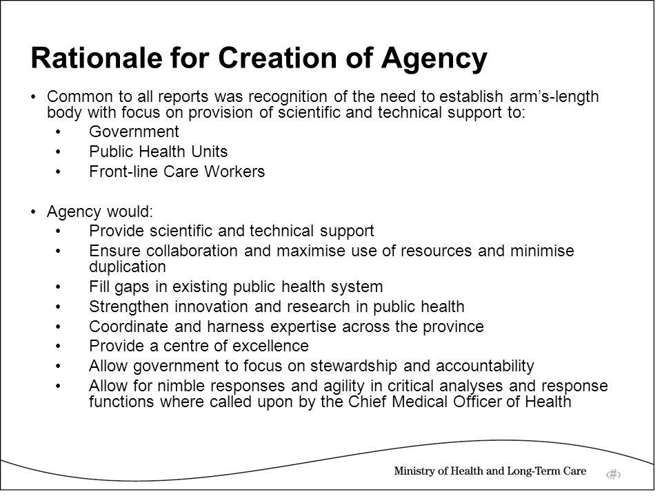 6 Conceptual Framework for Agency