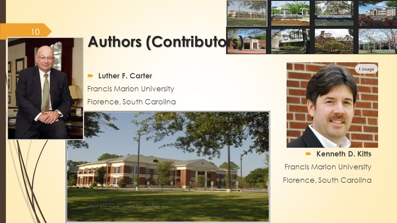 Authors (Contributors)  Luther F.