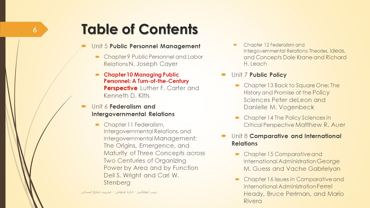 Table of Contents  Unit 9 Public Law  Chapter 17 Administrative Law and Regulation David H.