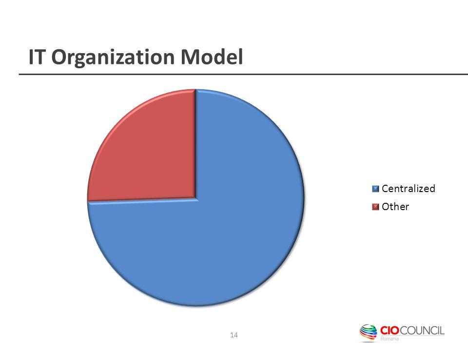 IT Organization Model 14