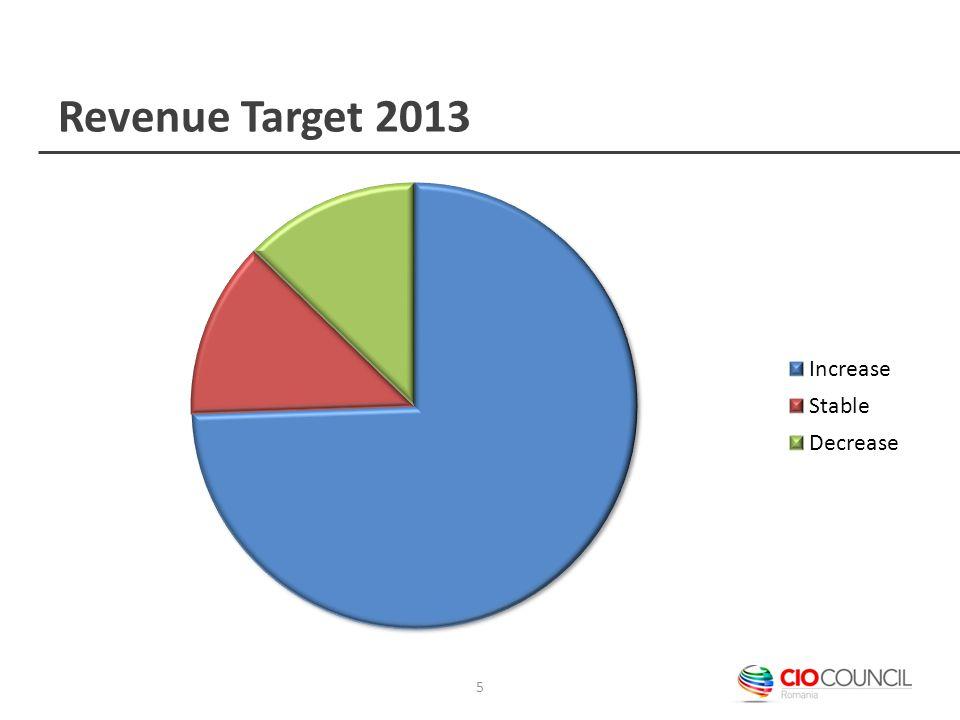 Revenue Target 2013 5