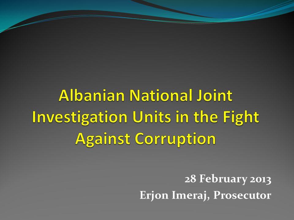 28 February 2013 Erjon Imeraj, Prosecutor