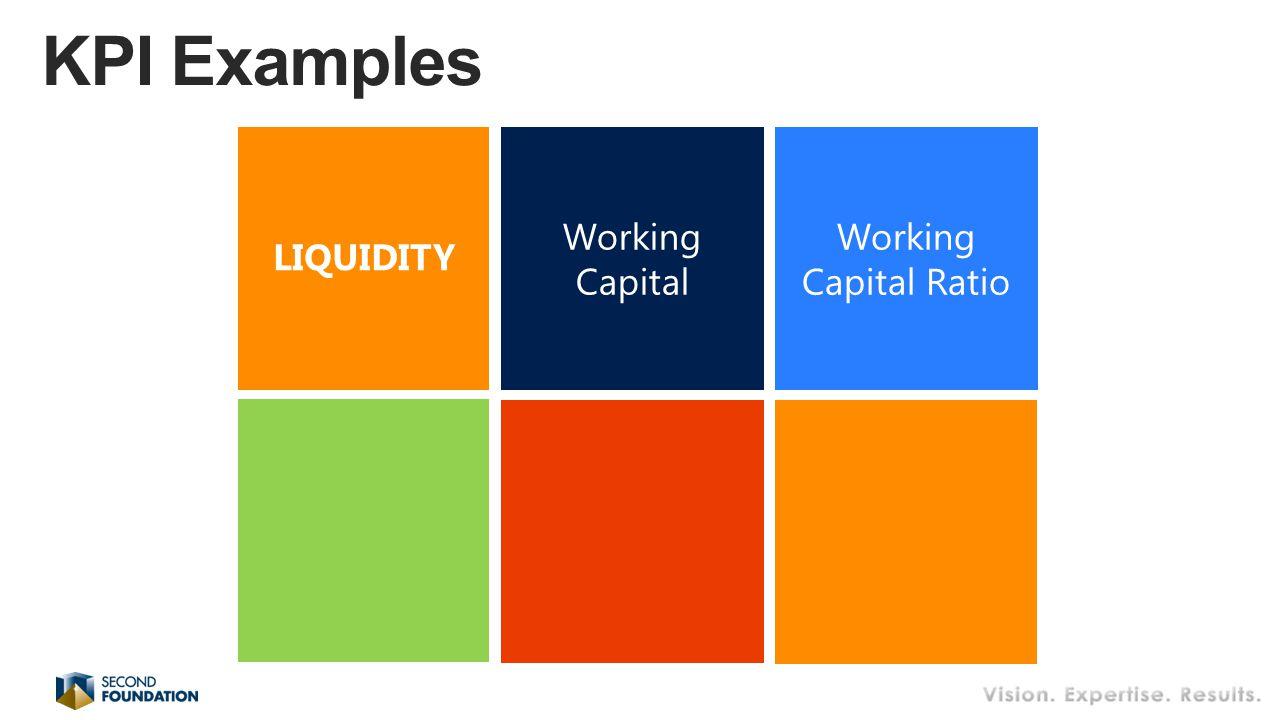 Working Capital Working Capital Ratio LIQUIDITY